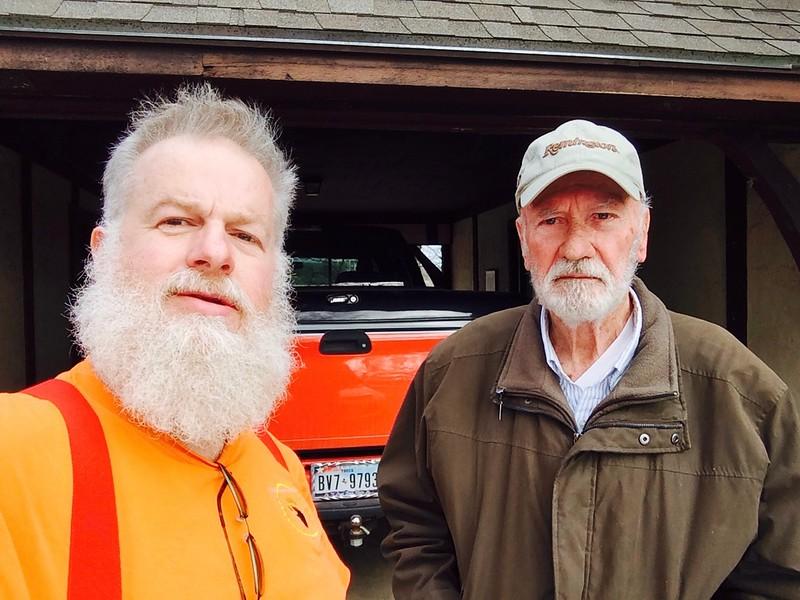Jim Songer in Burleson, TX,  March, 2015