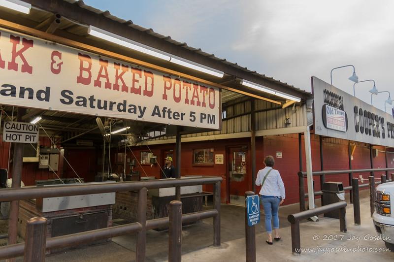 Cooper's Barbecue Llano, TX