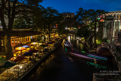 Riverwalk San Antonio, Texas at Dusk