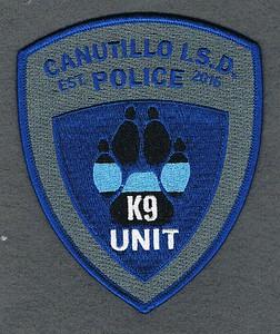 CANUTILLO ISD K9