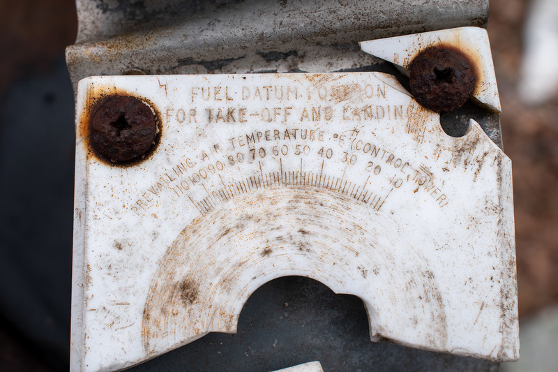 Fuel datum card would have been part of the modification to CV600.  I'm still learning about where this was, possibly part of the center pedestal.