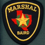 Baird City Marshal