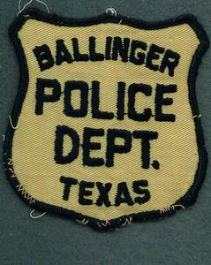 Ballinger Police