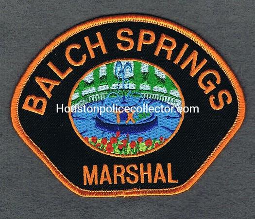 BALCH SPRINGS MARSHAL