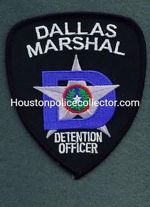 DALLAS MARSHAL 50 DETENTION OFFICER