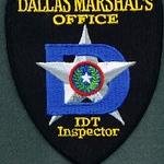DALLAS MARSHAL INSPECTOR