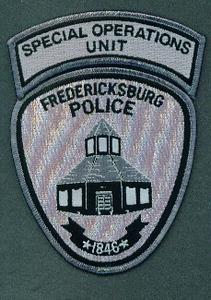 FREDERICKSBURG 60 SPECIAL OPS UNIT