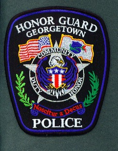 GEORGETOWN 50 HONOR GUARD LARGE