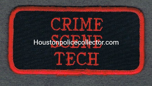 GRAND PRAIRIE CRIME SCENE TECH TAB