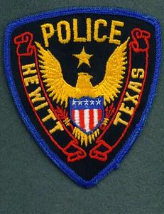 Hewitt Police