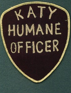 KATY 60 HUMANE OFFICER