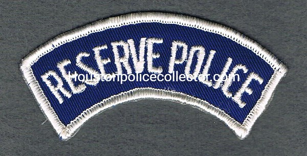 RESERVE POLICE TAB