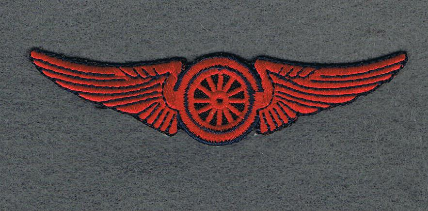RED MOTORCYCLE WING