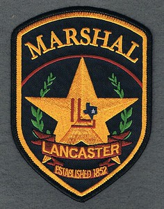 LANCASTER MARSHAL SMALL LETTERS