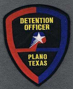 PLANO DETENTION OFFICER USED