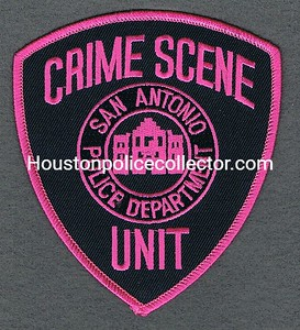 SAN ANTONIO CRIME SCENE UNIT PINK