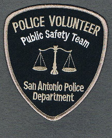 SAN ANTONIO POLICE VOLUNTEER
