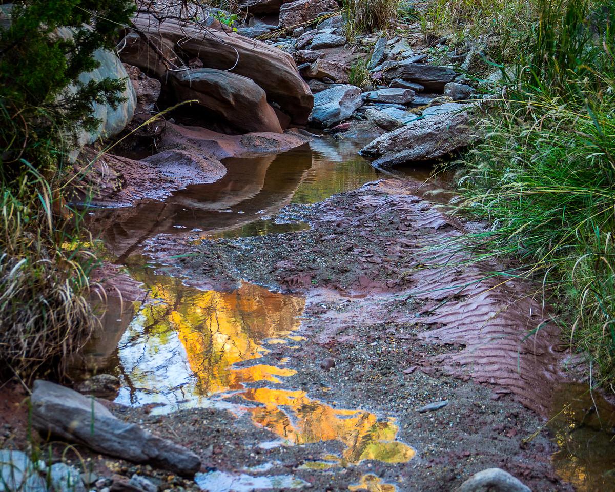Golden Reflections, Palo Duro Canyon