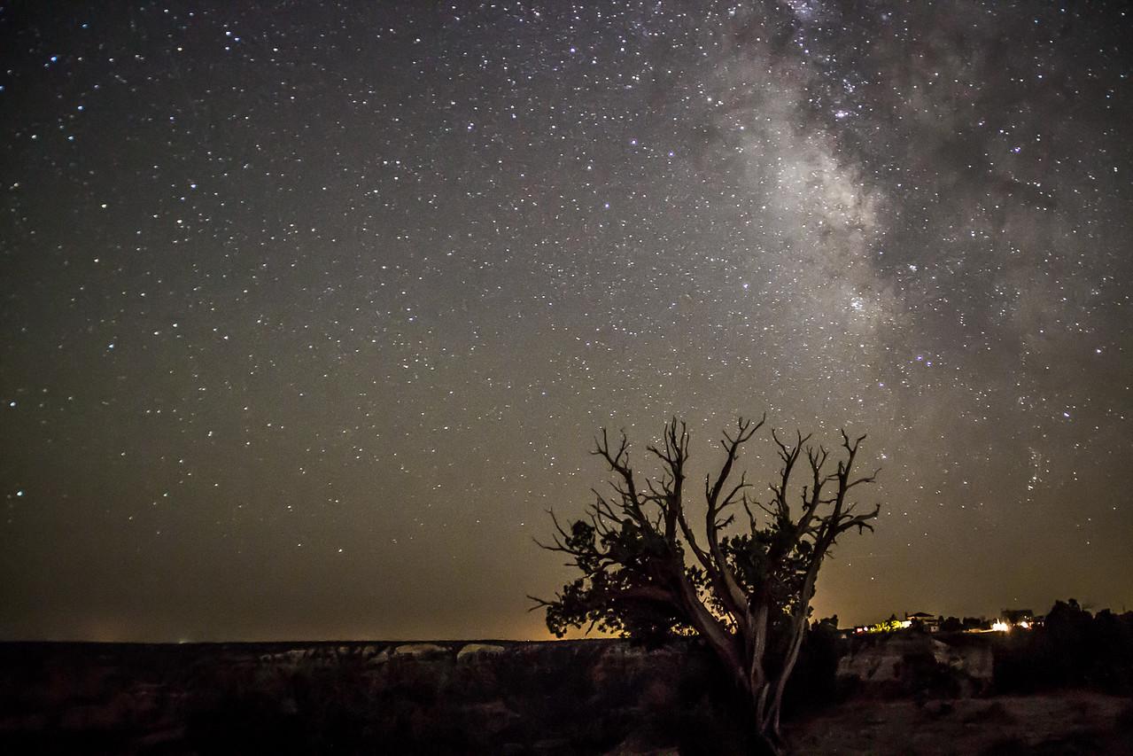 Milky Way, Palo Duro Canyon