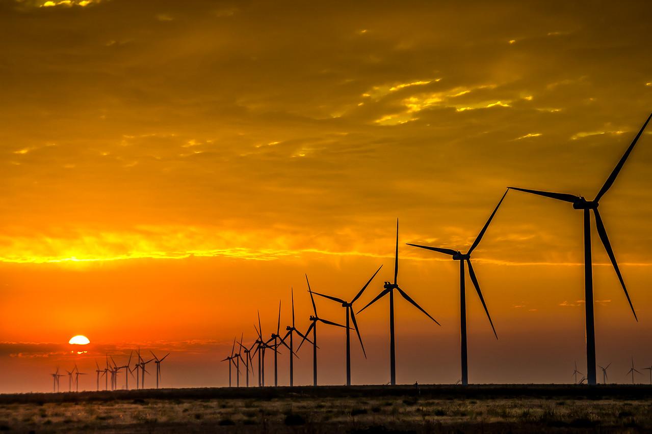 Wind Turbines of Carson County