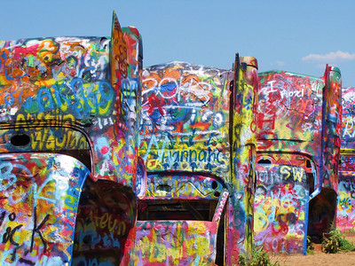 Cadillac Ranch, Amirallo Texas