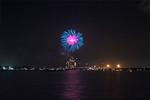Fireworks Over Kemah July 4, 2017