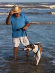 James and Catalina -Indian Beach, Galveston, Texas 4-30-12