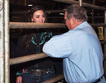 Kylie and James before the FFA 2012 competition/show.