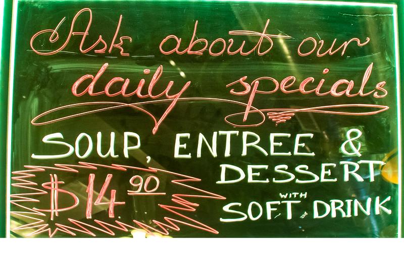 Polonia Restaurant Daily Specials
