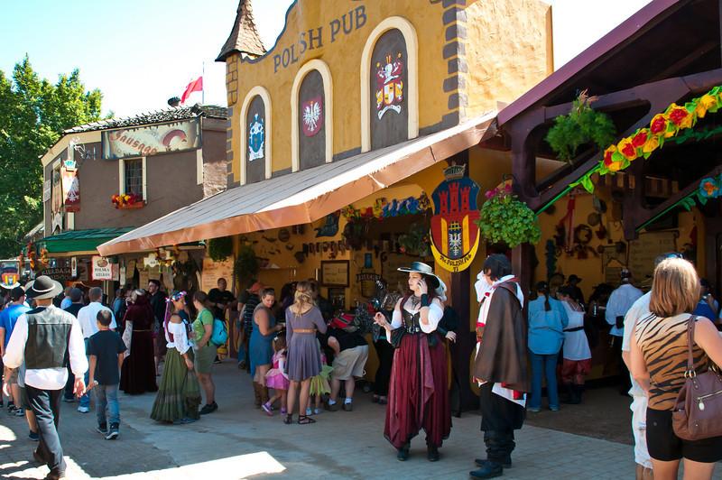 Polonia At Texas Renaissance Festival