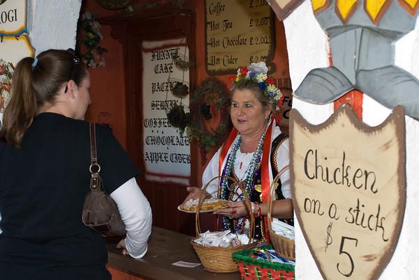 Polonia Restaurant at Texas Renaissance Festival