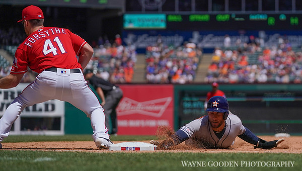 George Springer and Forsythe photo by Wayne Gooden