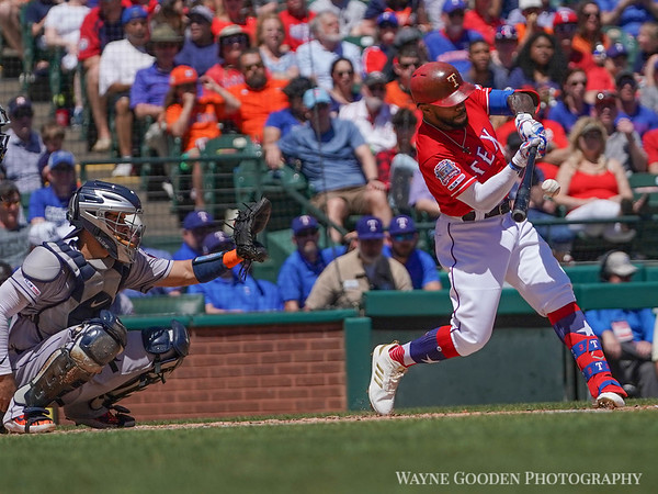 Delino Deshields photo by Wayne Gooden