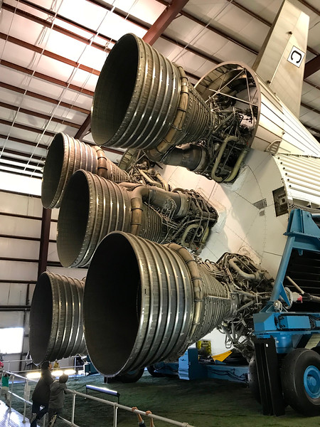 First Stage Saturn V
