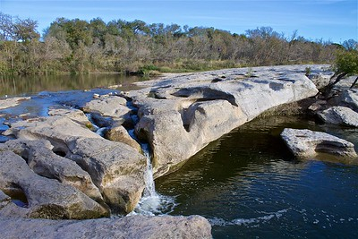 Upper Falls McKinney State Park Texas