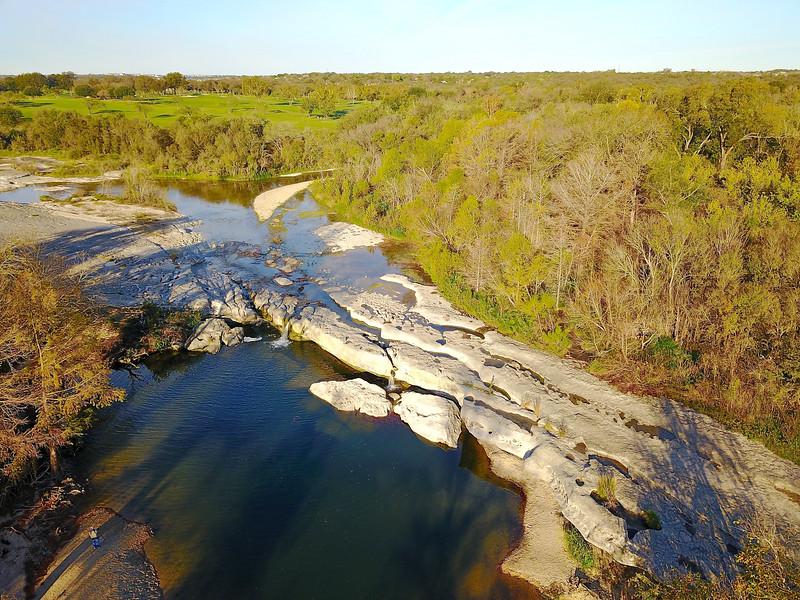 Lower Falls McKinney State Park Texas