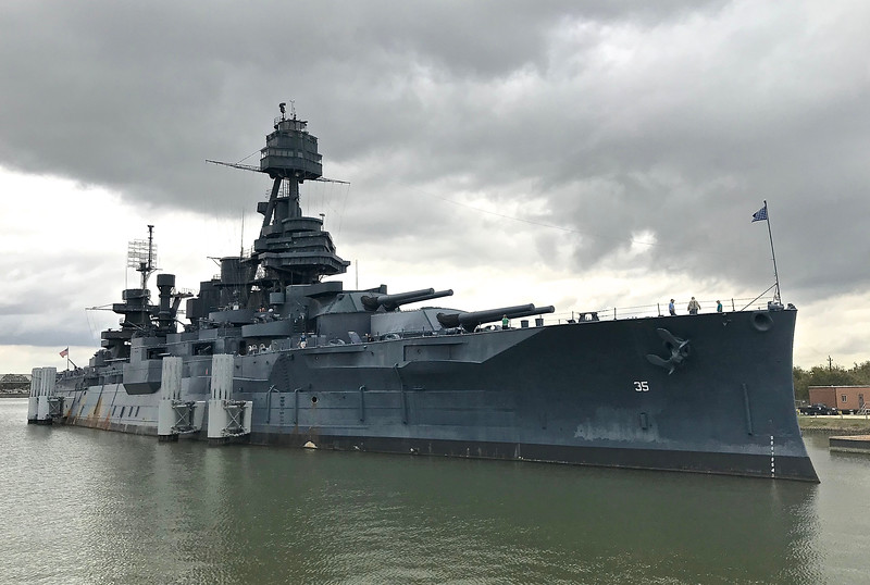 Texas is the only remaining dreadnought in the world.