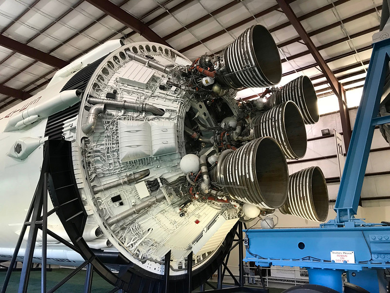 Second Stage Saturn V
