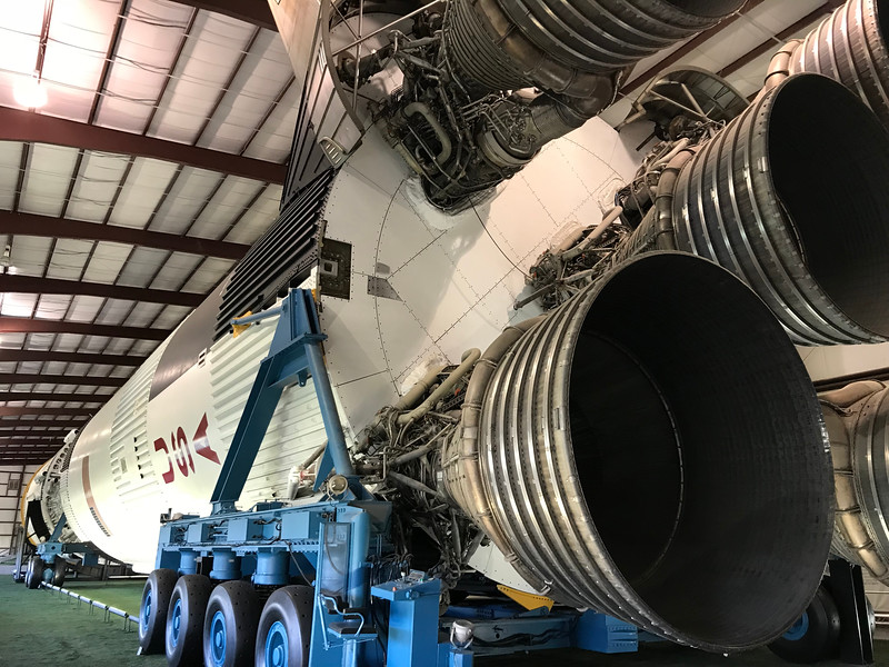 Saturn V ...   This would have been Apollo 18