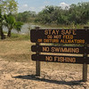 Sign - Don't Feed the Alligators