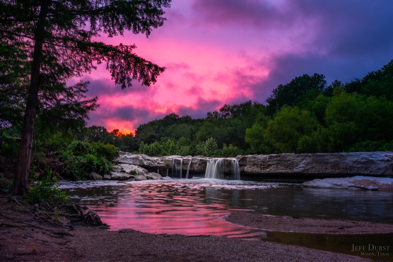 McKinney Lower Falls Last Sunset FINAL