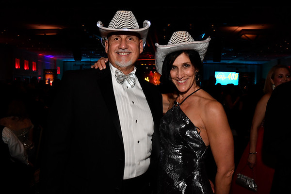 WASHINGTON, DC - JANUARY 19:  Matthew Digioia (L) and Dr. Jean Nelson, both of Wilmington, NC attend the Texas State Society of Washington, D.C. Black Tie and Boots Presidential Inaugural Ball at the Gaylord National Resort & Convention Center on January 19, 2017 in Washington, DC.  (Photo by Larry French/Washington Life Magazine)
