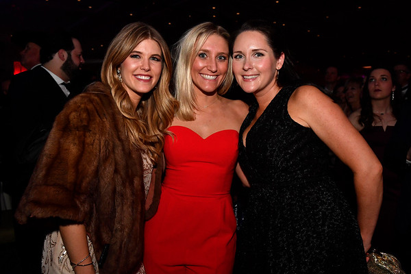 WASHINGTON, DC - JANUARY 19:  (L-R) Holly Vataki, Ashley Mettler and Kristin Stipicevic attend the Texas State Society of Washington, D.C. Black Tie and Boots Presidential Inaugural Ball at the Gaylord National Resort & Convention Center on January 19, 2017 in Washington, DC.  (Photo by Larry French/Washington Life Magazine)