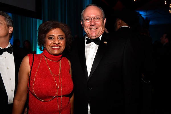 WASHINGTON, DC - JANUARY 19:  Jay Rao (L) and retired U.S. Air Force Colonel Rob Maness attend the Texas State Society of Washington, D.C. Black Tie and Boots Presidential Inaugural Ball at the Gaylord National Resort & Convention Center on January 19, 2017 in Washington, DC.  (Photo by Larry French/Washington Life Magazine)