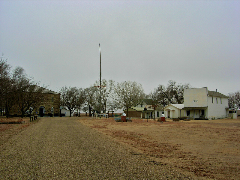 Mobeetie, first major town in the Panhandle