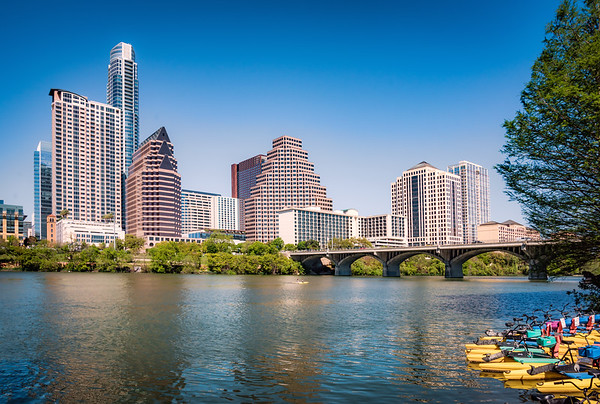 Austin on Lady Bird Lake