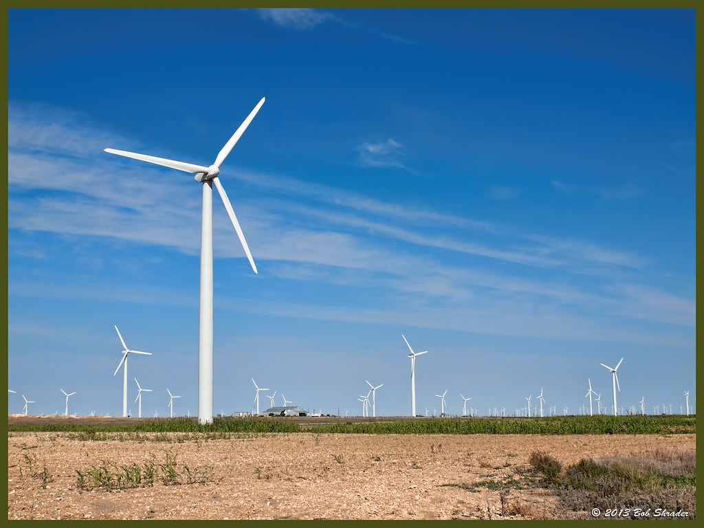 Windfarm in the Big Country