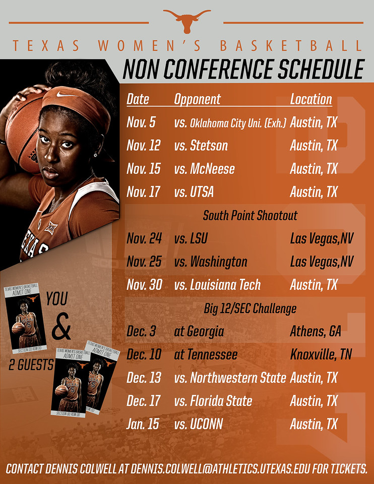 2017-18 Non-Conference Schedule Mailout