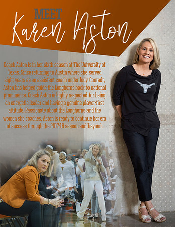Meet Head Coach Karen Aston Mailout