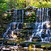 Zilker Gardens Waterfall<br /> Zilker Gardens, Austin, TX